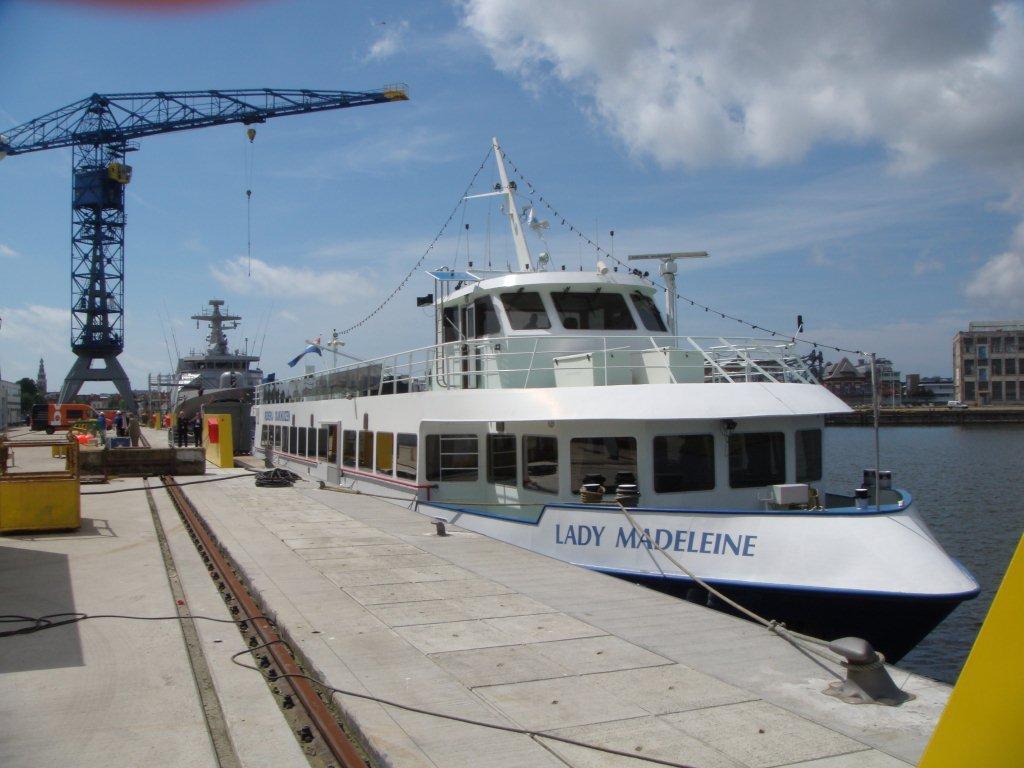 Bezoek Damen Shipyards Vlissingen
