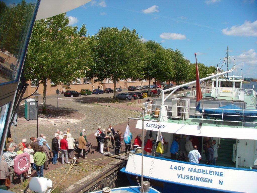 Rondvaarten Middelburg naar Veerse Meer